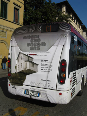 Bus in Florence, Italy