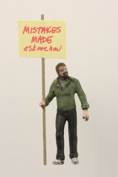 "Artwork ""Mistakes Made"" by artist Thomas Doyle"