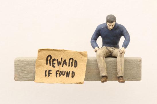 "Artwork ""Reward if Found"" by artist Thomas Doyle"