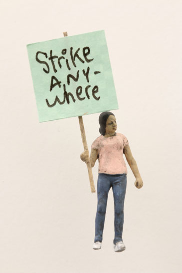 "Artwork ""Strike Anywhere"" by artist Thomas Doyle"