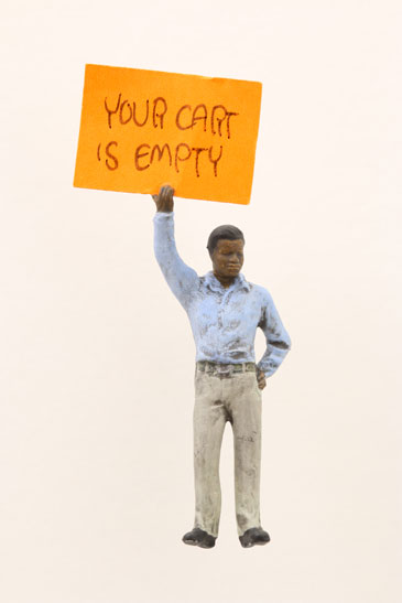 """Artwork """"Your Cart is Empty"""" by artist Thomas Doyle"""