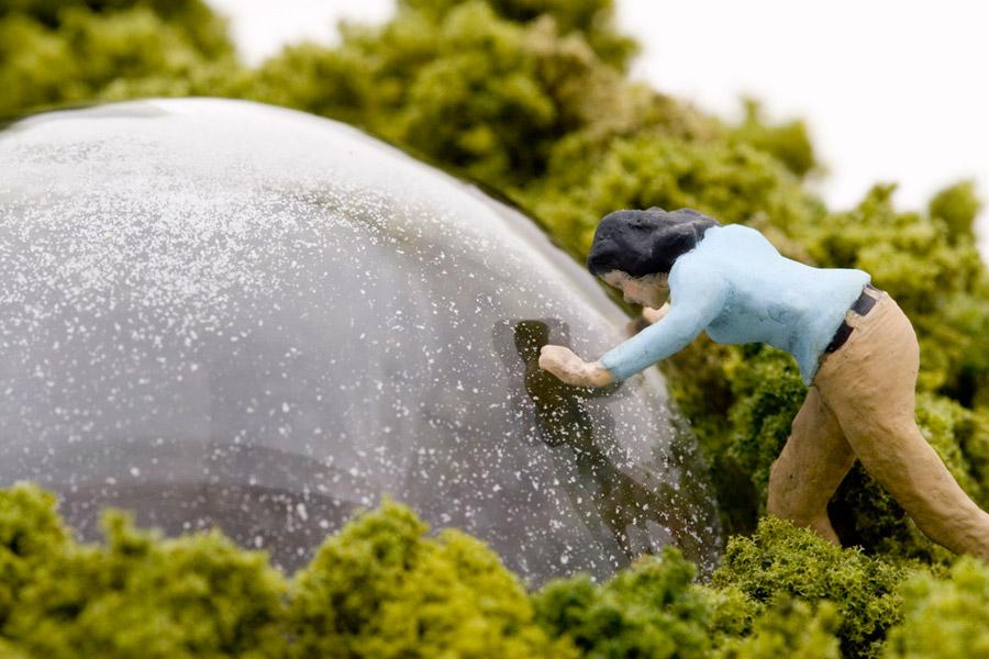 "Artwork ""Clearing (UXO)"" by artist Thomas Doyle"