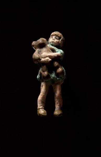 "Artwork ""Girl With Bear"" by artist Thomas Doyle"