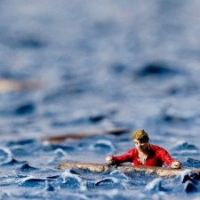 "Artwork ""Bathing in the Last Light of Polaris"" by artist Thomas Doyle"